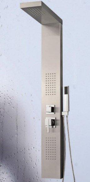 DURASAN - Panel natryskowy TEXAS z dyszami masującymi