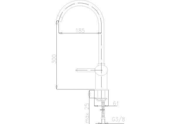 ARMATURA KRAKÓW - Diament Bateria zlewozmywakowa 4103-915-00