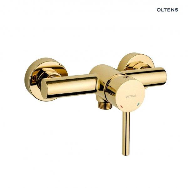 OLTENS Bateria natryskowa prysznicowa ścienna MOLLE złota/gold 33000800
