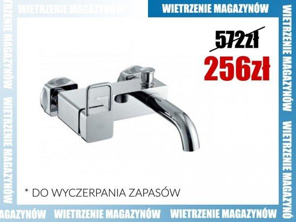 ARMATURA KRAKÓW - Brylant Bateria wannowa ścienna 4304-010-00