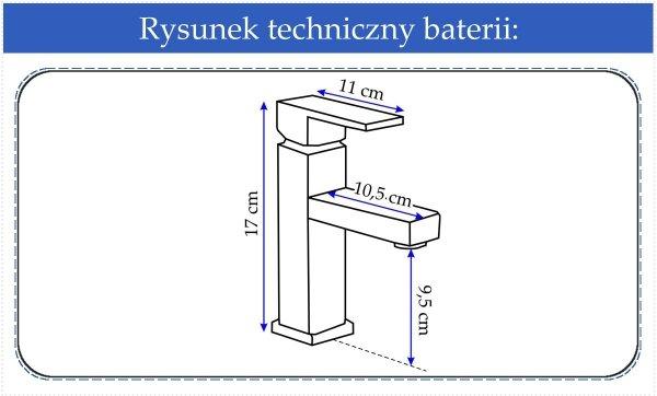 REA - Bateria umywalkowa Caro 9211