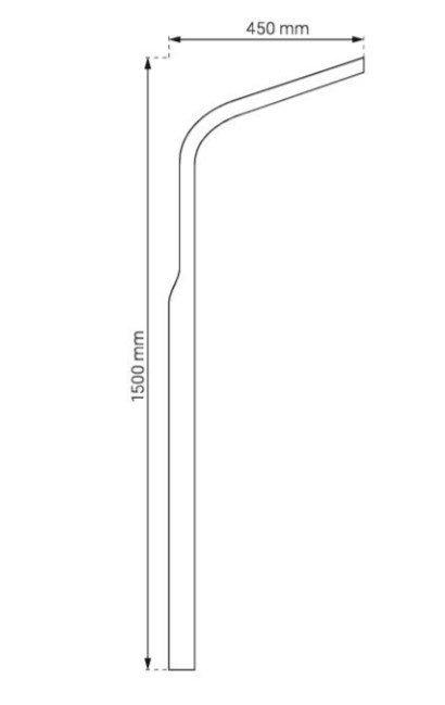 DURASAN - Panel natryskowy MV-G 871 z dyszami masującymi