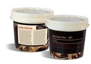 PRALIN DELICRISP PISTACHO 5 kg - Delikatna pasta z dodatkiem chrupkich, maslanych Delicrisp