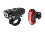 FORCE EXPRESS USB zestaw lampek rowerowych