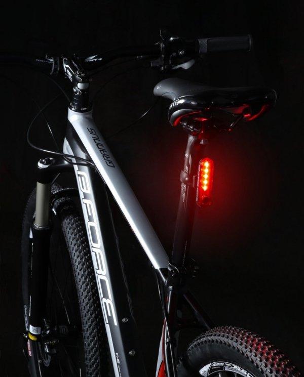 FORCE DOT Lampka tylna USB 20lm