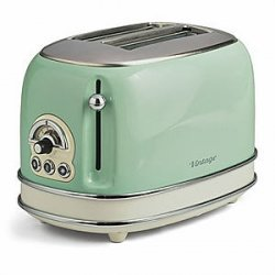 Toster Ariete Iconic Vintage Collection na 2 grzanki o mocy 810 W zielony 155 04