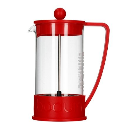 Bodum French Press Brazil 1l czerwony