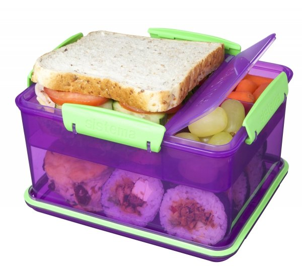 Lunch Box Lunch Tub 2.3L