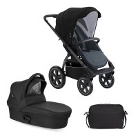 X-Move Astral Black| Kombi Kinderwagen 2 in 1 Set | X-Lander