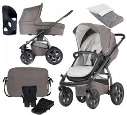 SONDERANGEBOT 12 in 1 | X-Move Evening Grey | Buggy/ Kombi Kinderwagen X-Lander