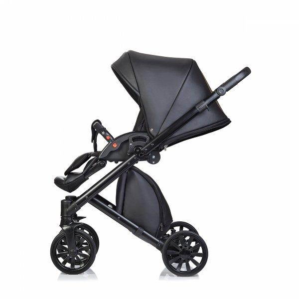 ANEX CROSS Dazzle | Kombi-Kinderwagen 2 in 1 mit Liegewanne und Sportwagen | oder 3 in 1 mit Autoschale