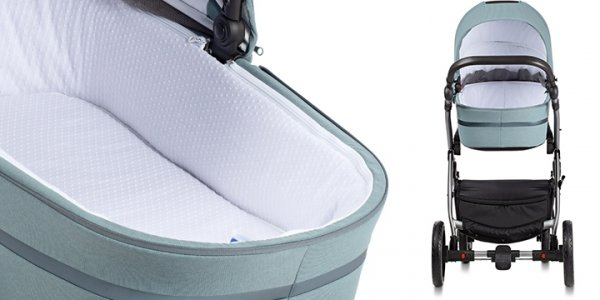 UNO+ TUTIS | Canella/ Grau | Kombi-Kinderwagen 2 in 1 mit Liegewanne und Sportwagen | oder 3 in 1 mit Autoschale | Gestell in Schwarz