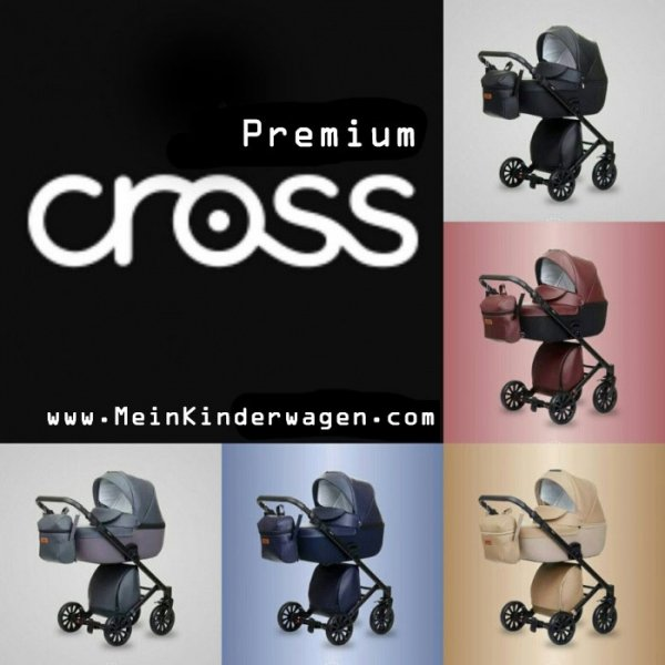 Kombikinderwagen Anex CROSS, Safari/Eco-Leder