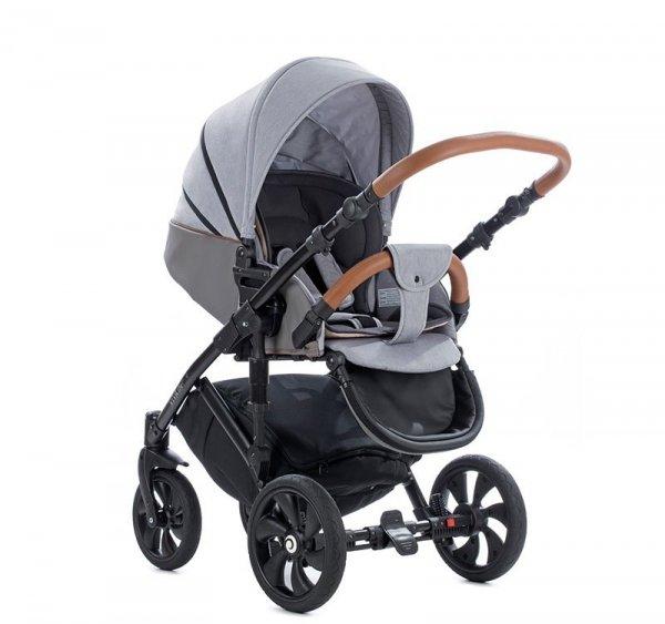 VIVA LIFE TUTIS Sleet | Kombi-Kinderwagen 2 in 1 mit Liegewanne und Sportwagen | oder 3 in 1 mit Autoschale