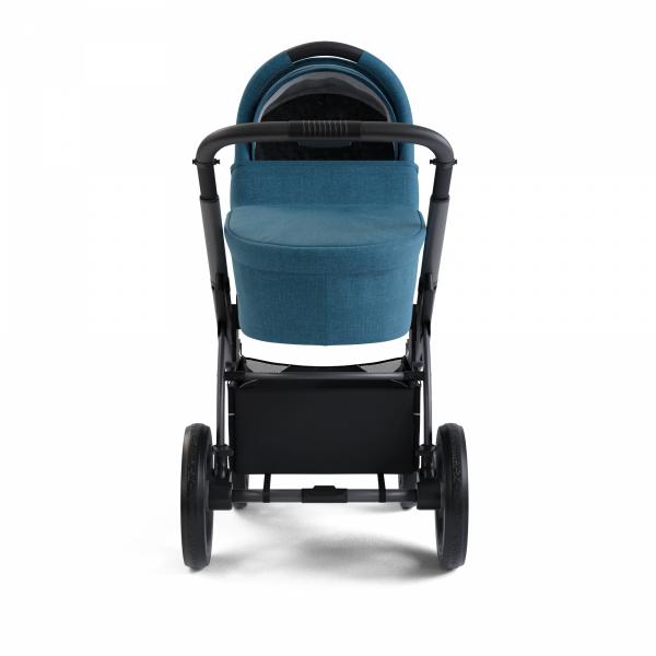 X-Move Petrol Blue 2 in 1 SET | Kombi Kinderwagen X-Lander |inkl.Wickeltasche