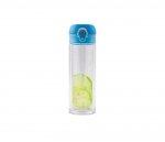 Kubek termiczny szklany 280 ml T-READY GLASS (jasnoniebieski)