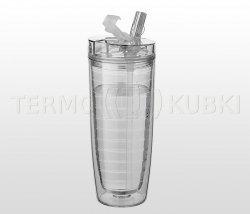 Bidon termiczny 560 ml CLAREC (bezbarwny)