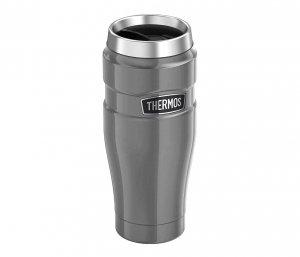 Kubek termiczny Thermos Travel King 470 ml (grafitowy)