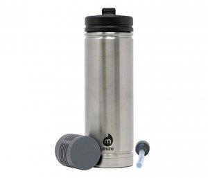 Kubek termiczny z filtrem do wody V7 650 ml MIZU 360 Adventure Kit (stalowy) nanotechnologia NASA