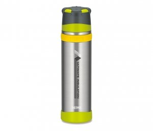 Termos ekstremalny Mountain Thermos 900 ml (stalowy/zielony)