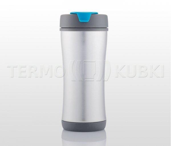 Kubek termiczny 225 ml ECOTERM (niebieski/szary)