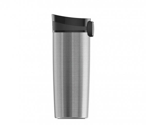 Kubek termiczny Miracle Mug Brushed 470 ml stalowy