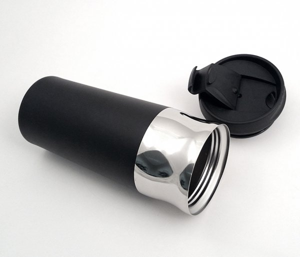 Kubek termiczny MUSTANG 450 ml czarny