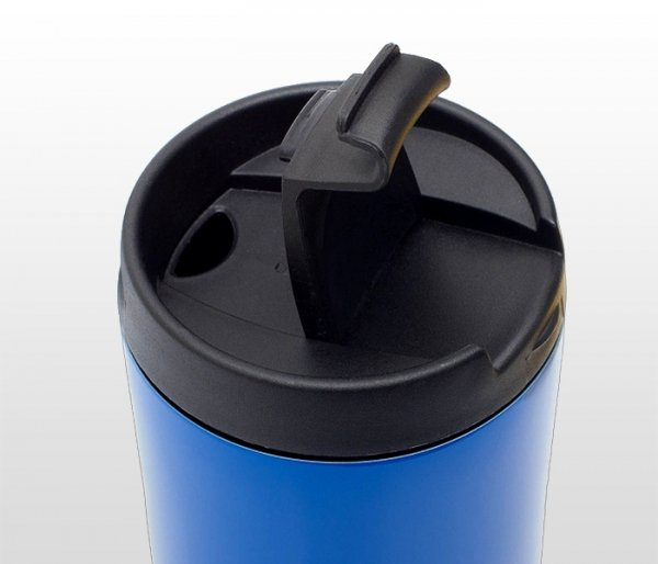 Kubek termiczny MUGSY 450 ml (niebieski)