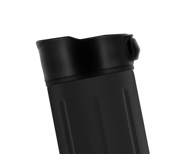 Kubek termiczny Sigg Gemstone Obsidian 470 ml czarny