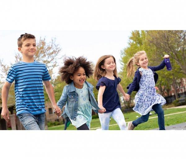 Kubek dla dzieci ze słomką Thermos FUNtainer 355 ml czarny motyw free