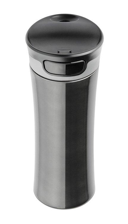 Kubek termiczny 430 ml TRAWIS (czarny)