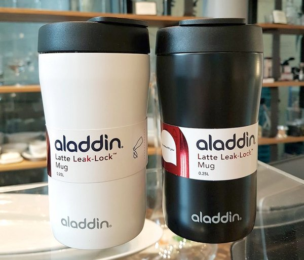 Kubek aladdin latte 250 ml leak-proof czarny