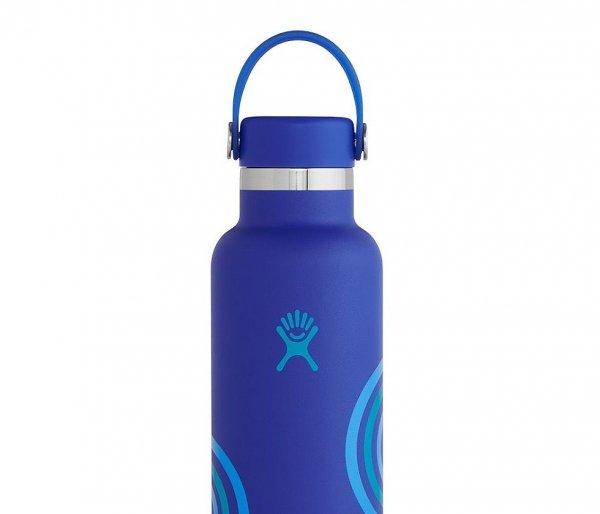 Butelka termiczna Hydro Flask 621 ml Flex Cap z podkładką Boot niebieski Wave #RefillForGood
