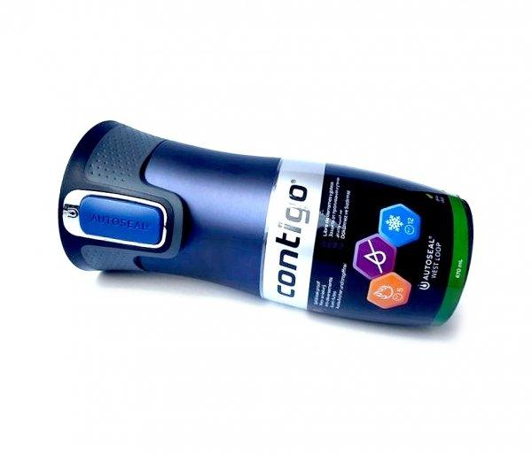 Kubek termiczny CONTIGO 470 ml West Loop 2 granatowy mat