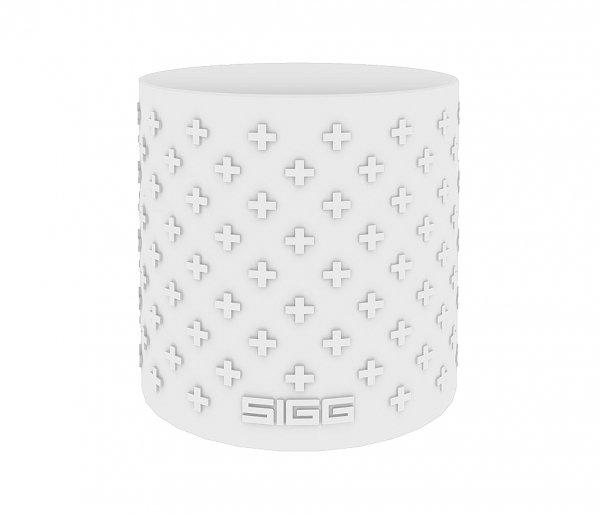 Termos szklany SIGG WMB z zaparzaczem HOT & COLD Glass 400 ml White