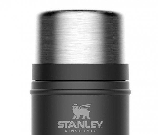 Termos na posiłek STANLEY Legendary Classic Food Jar 700 ml czarny