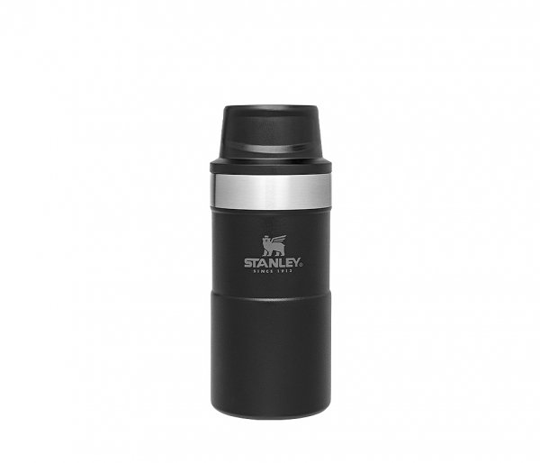 Kubek termiczny Stanley 250 ml TRIGGER ACTION TRAVEL MUG czarny