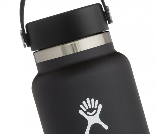 Termos Hydro Flask Wide Mouth 2.0 Flex Cap 946 ml czarny vsco