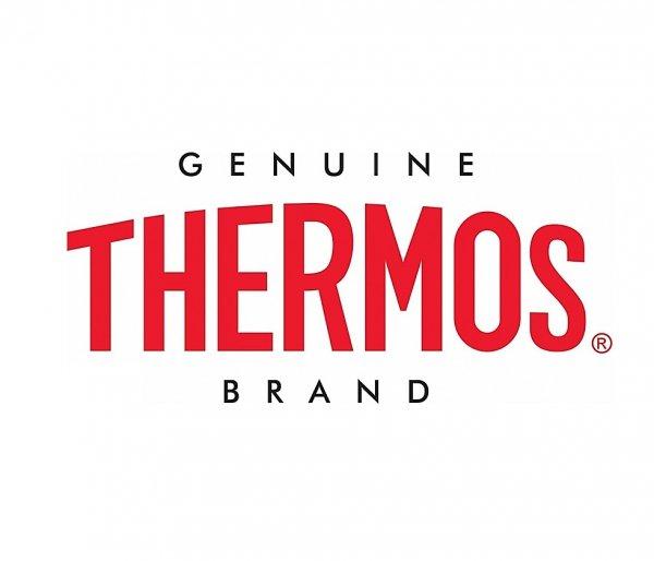 Kubek termiczny ze słomką Thermos Style 530 ml stalowy/czarny