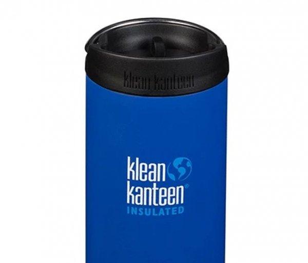 Kubek termiczny Klean Kanteen TKWide 473 ml Cafe Cap deep surf niebieski