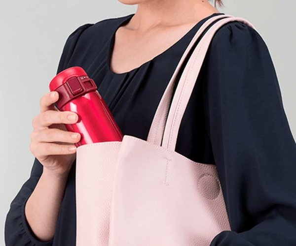 Kubek termiczny Zojirushi Mug SM 360 ml z ceramiczną powłoką czerwony Garnet Red