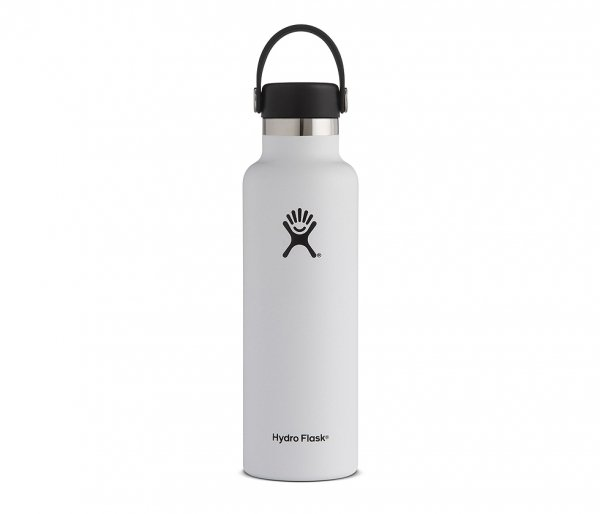 Butelka termiczna Hydro Flask 621 ml Flex Cap biały vsco