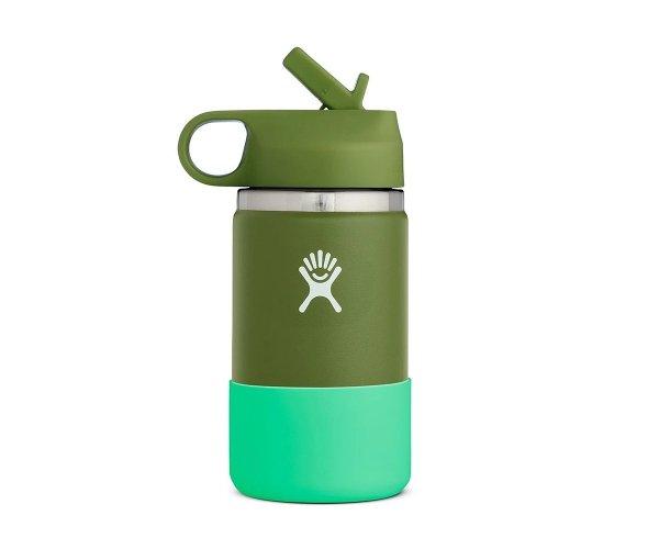 Kubek termiczny dla dzieci Hydro Flask Kids Straw Lid 355 ml olive zielony