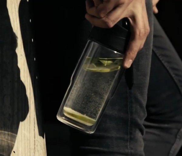 Kubek termiczny szklany szczelny SIGG Mug Blue 370 ml niebieski