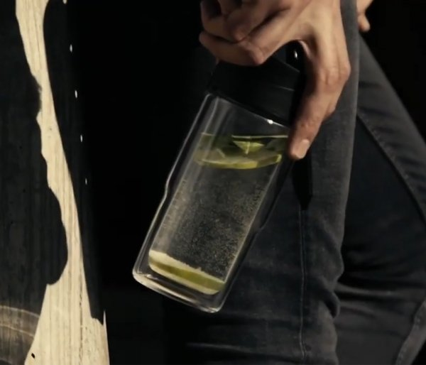 Kubek termiczny szklany szczelny SIGG Mug Black 370 ml czarny