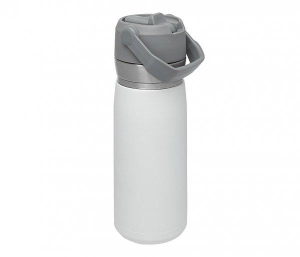 Bidon termiczny STANLEY GO FLIP STRAW 650 ml ze słomką biały