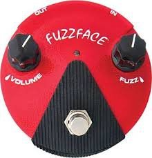DUNLOP DL E FFM 2 GERMANIUM FUZZ FACE MINI RED