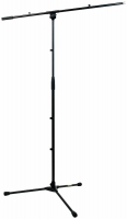 MICROPHONE STAND  RS 20700 B WITH BOOM BLACK