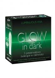 Prezerwatywy Viva Glow in Dark Luminuous 4