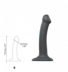 Dildo Mono Density Matte Grey S